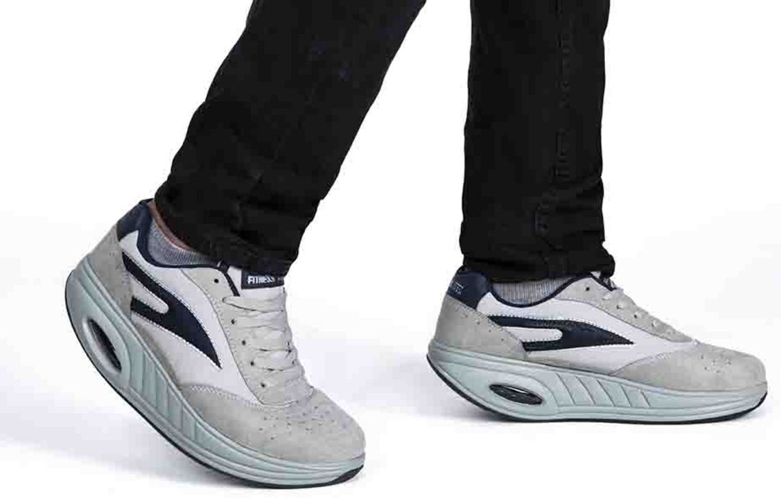 Fitness Step GRIGIE BLU