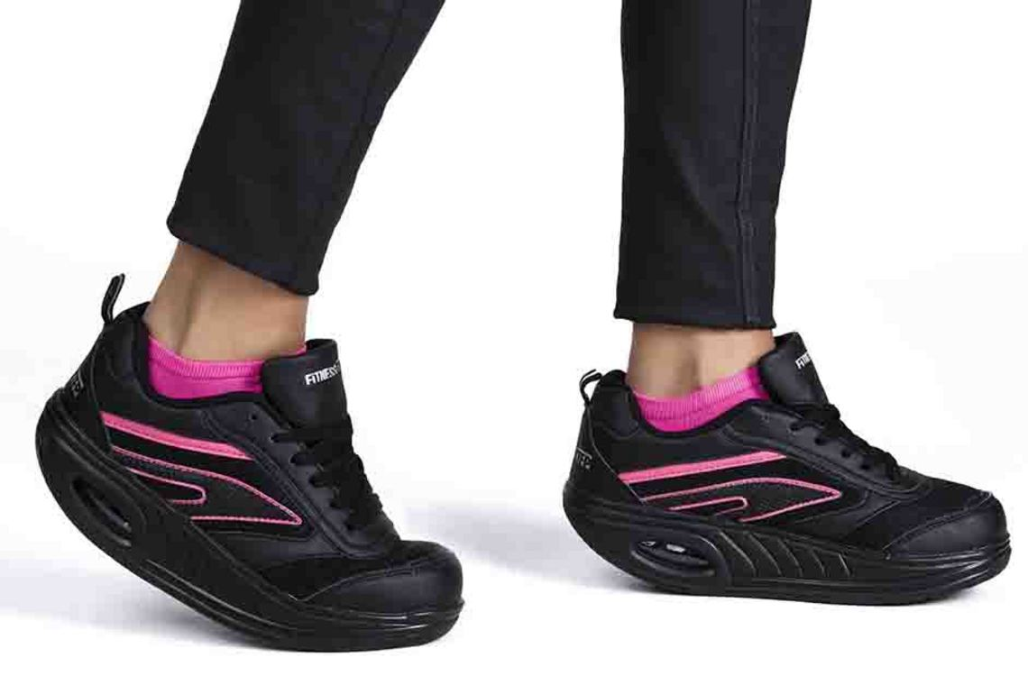 Fitness Step NERE FUXIA